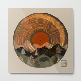 Bison Album Art Metal Print