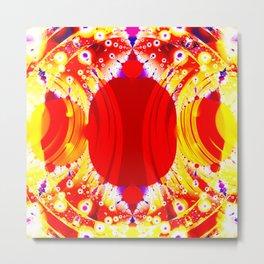 Inner Circle Metal Print
