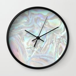 abalone whisper Wall Clock