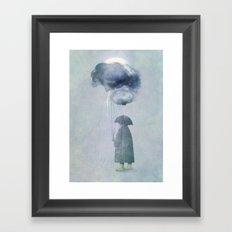The Cloud Seller Framed Art Print