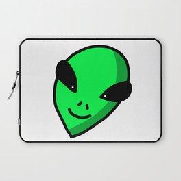 Alien Face | Veronica Nagorny Laptop Sleeve
