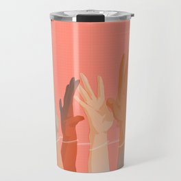 we are all connected Travel Mug