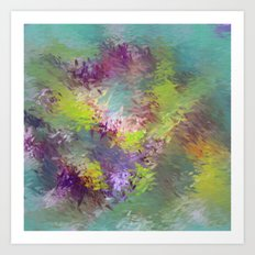 Impressionistic Abstract Art Print