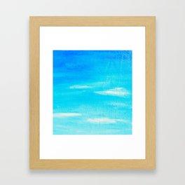 Blue Skies in Florida #5 Framed Art Print
