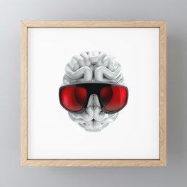 Keep a Cool Mind Framed Mini Art Print
