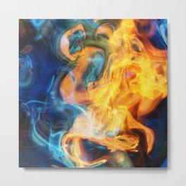 fire2 Metal Print