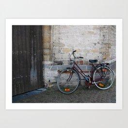 Going Somewhere? Art Print