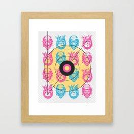 Gorilla Love Framed Art Print