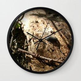 Life Down Low Wall Clock