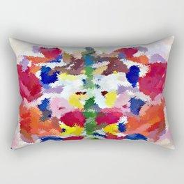 Watercolor Butterfly Rectangular Pillow