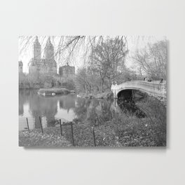 Scenic Bow Bridge Metal Print