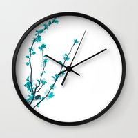 pastel Wall Clocks featuring Pastel  by Rceeh