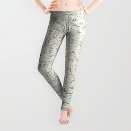 birch bark Leggings