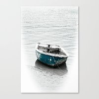 lonely Canvas Prints featuring Lonely by  Alexia Miles photography