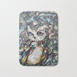 The Shy Owl Bath Mat