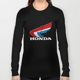 Retro Rwb Honda Wing Jersey Trx 250R Xr75 Cr250 Cbr Vintage Motorcycle T-Shirts Long Sleeve T-shirt