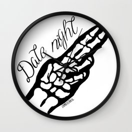 Date Night Wall Clock
