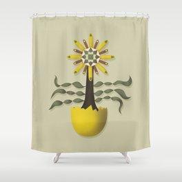 Flower Fingers Shower Curtain