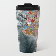 Flower Child 2 Metal Travel Mug