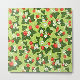 strawberry glade Metal Print