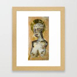 Patron Saint of Spring Time Love Framed Art Print