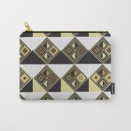 African Tribal Pattern No. 89 Carry-All Pouch
