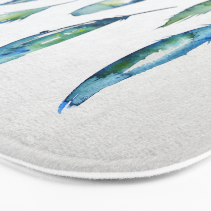 Feather Collection Bath Mat