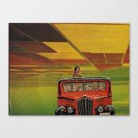 safari Canvas Prints featuring Safari by michaelbuishas