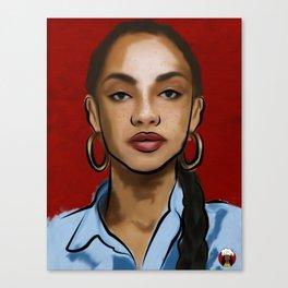 """Untitled//Sade"" (2017) Canvas Print"