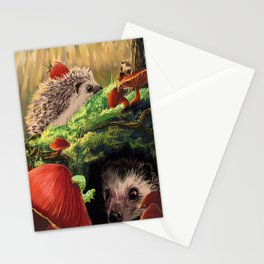 Hedgehogs Stationery Cards