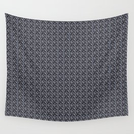 Penguins - black Wall Tapestry