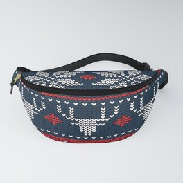 Christmas pixel Fanny Pack