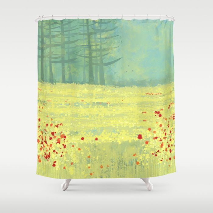 Meadow near Périgueux Shower Curtain by squirrell | Society6
