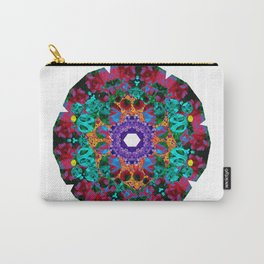Flower Eye Carry-All Pouch