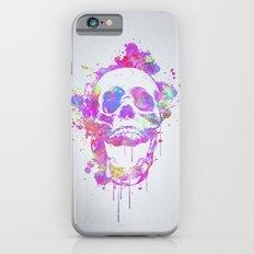 Watercolor Skull  iPhone 6s Slim Case