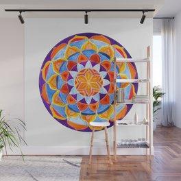 Harvest Sun Mandala Wall Mural