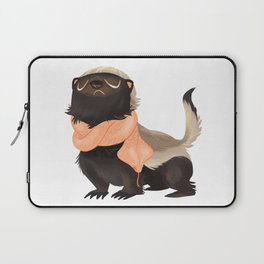 Honey Badger Don't Care Laptop Sleeve
