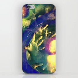 Reach Out And Touch Faith iPhone Skin