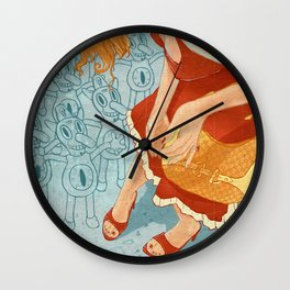 PreveD Wall Clock