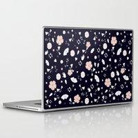 tiki Laptop & iPad Skins featuring Tiki by Danse de Lune