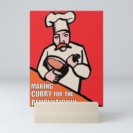 Making Curry for the Revolution Mini Art Print