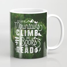 Mountains & Books - Trees Too! Mug