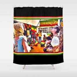House Of Rastafari / Rototom Sunsplash 2011 Shower Curtain