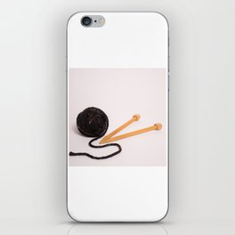 Knitting Bag Two iPhone Skin