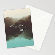 Mountains - Color Stationery Cards