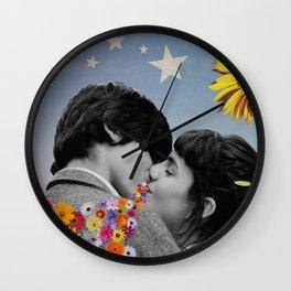 That Kiss Wall Clock