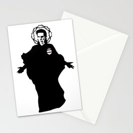 Nick Cave icon saint art Stationery Cards