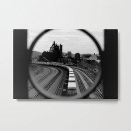 Bethlehem Steel Train Metal Print