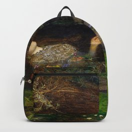 Ophelia, John Everett Millais Backpack