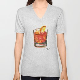 Negroni Cocktail Hour Unisex V-Neck